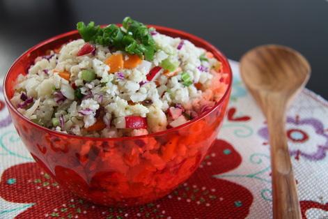 Eat-the-Rainbow Salad (Paleo, AIP)