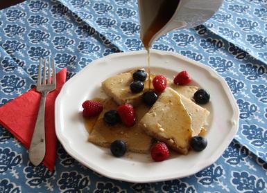 Flip-Free Pancakes (Paleo, Nut-Free)