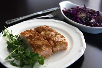 Ginger-Garlic Salmon (Paleo, AIP)