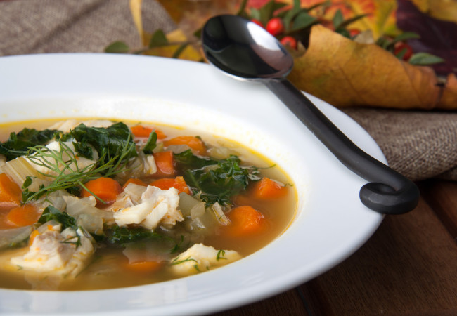 Fish and Kale Stew (Paleo, AIP, 21DSD, Whole30)