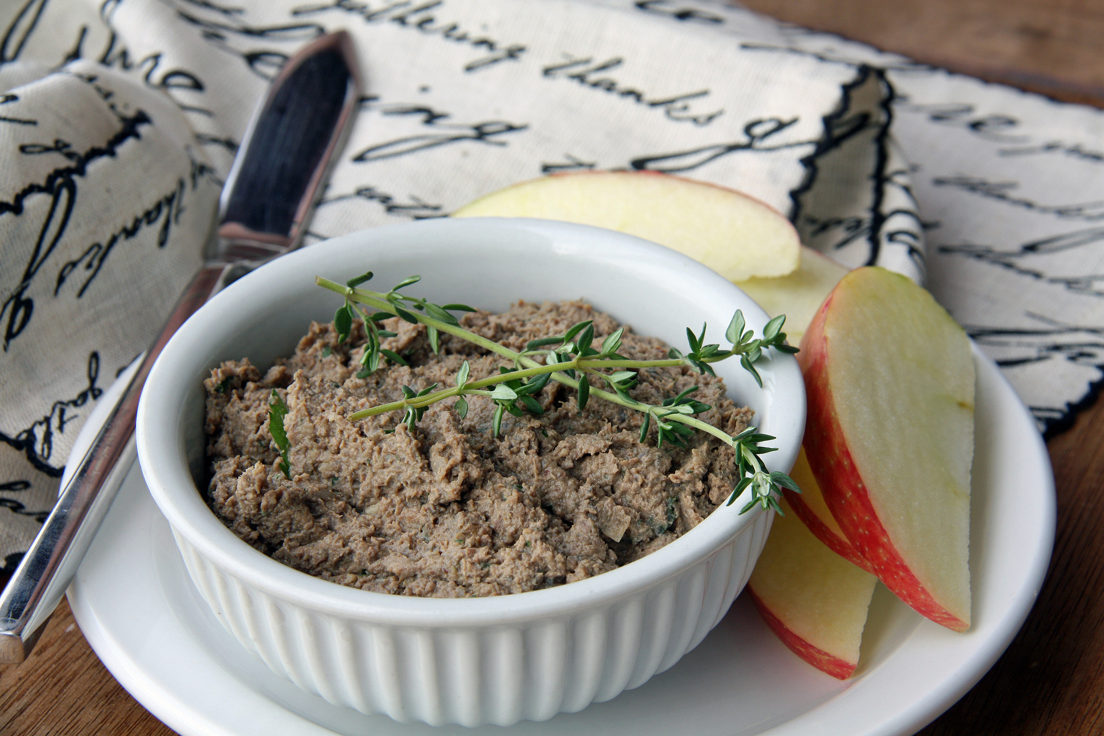 chicken liver pâté with mushrooms and bacon paleo aip 21dsd