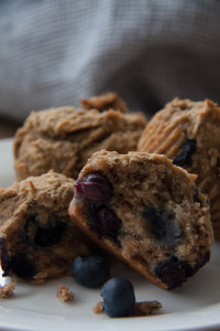 AIP Blueberry-Banana Muffins
