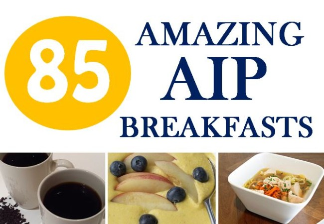 85 Amazing AIP Breakfasts!