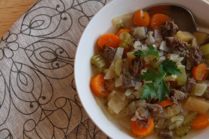 Beef Shank Vegetable Soup B
