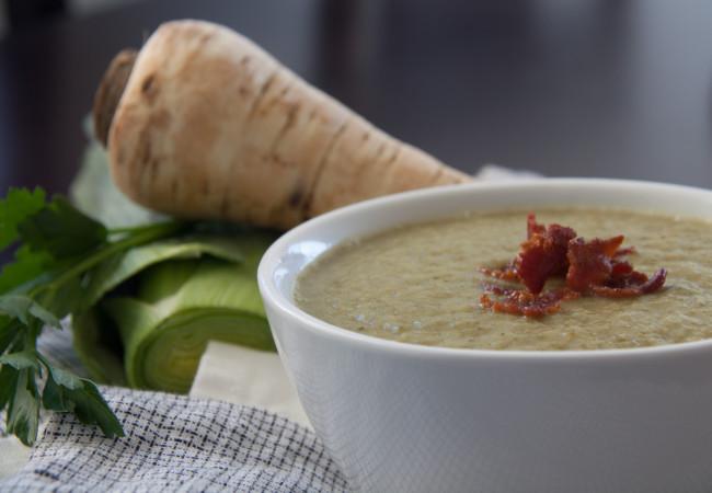 Colcannon Soup (AIP, Paleo)