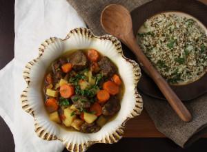 Moroccan Lamb Stew B