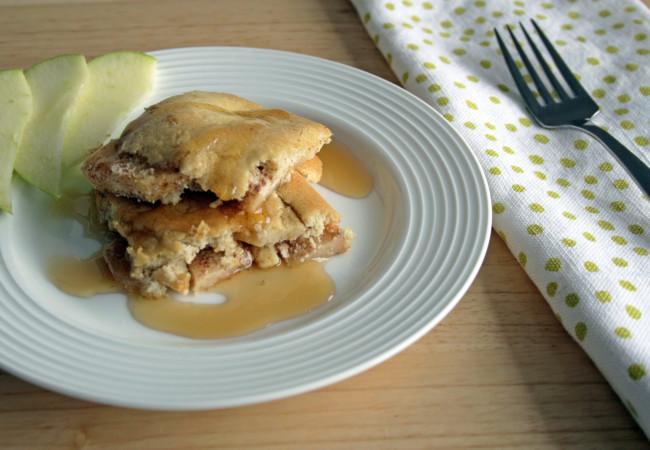 Oven-Baked Apple Pancakes (Paleo, SCD)