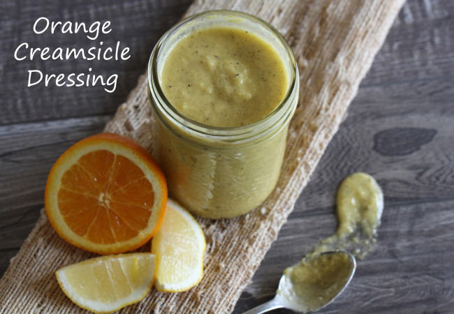 Orange Creamsicle Dressing (AIP, Paleo, SCD)