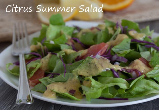 Citrus Summer Salad (AIP, Paleo, SCD)