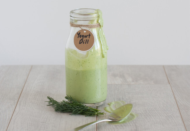 """Yogurt""-Dill Dressing (Paleo, AIP)"