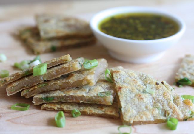 Green Onion Cakes (AIP, Paleo, Vegan)