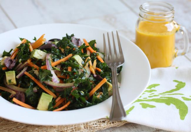 Kale and Carrot Salad (Paleo, AIP)