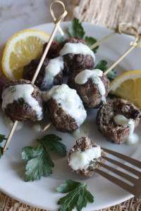 Greek Meatballs Alt