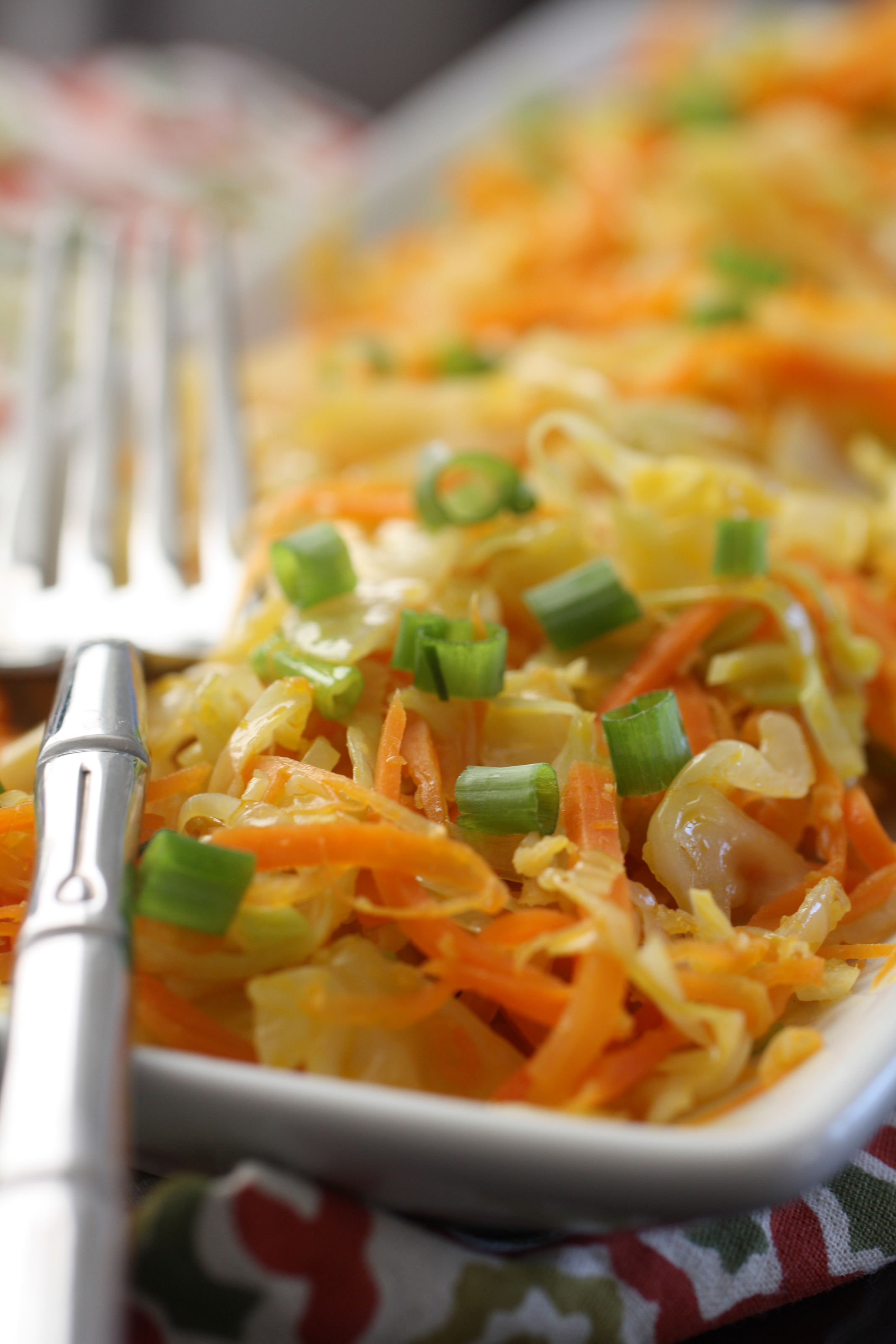 Ginger fried cabbage and carrots aip paleo vegan eat heal thrive alternate forumfinder Image collections
