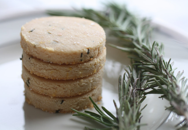 Lemon-Herb Shortbread (AIP, Paleo)