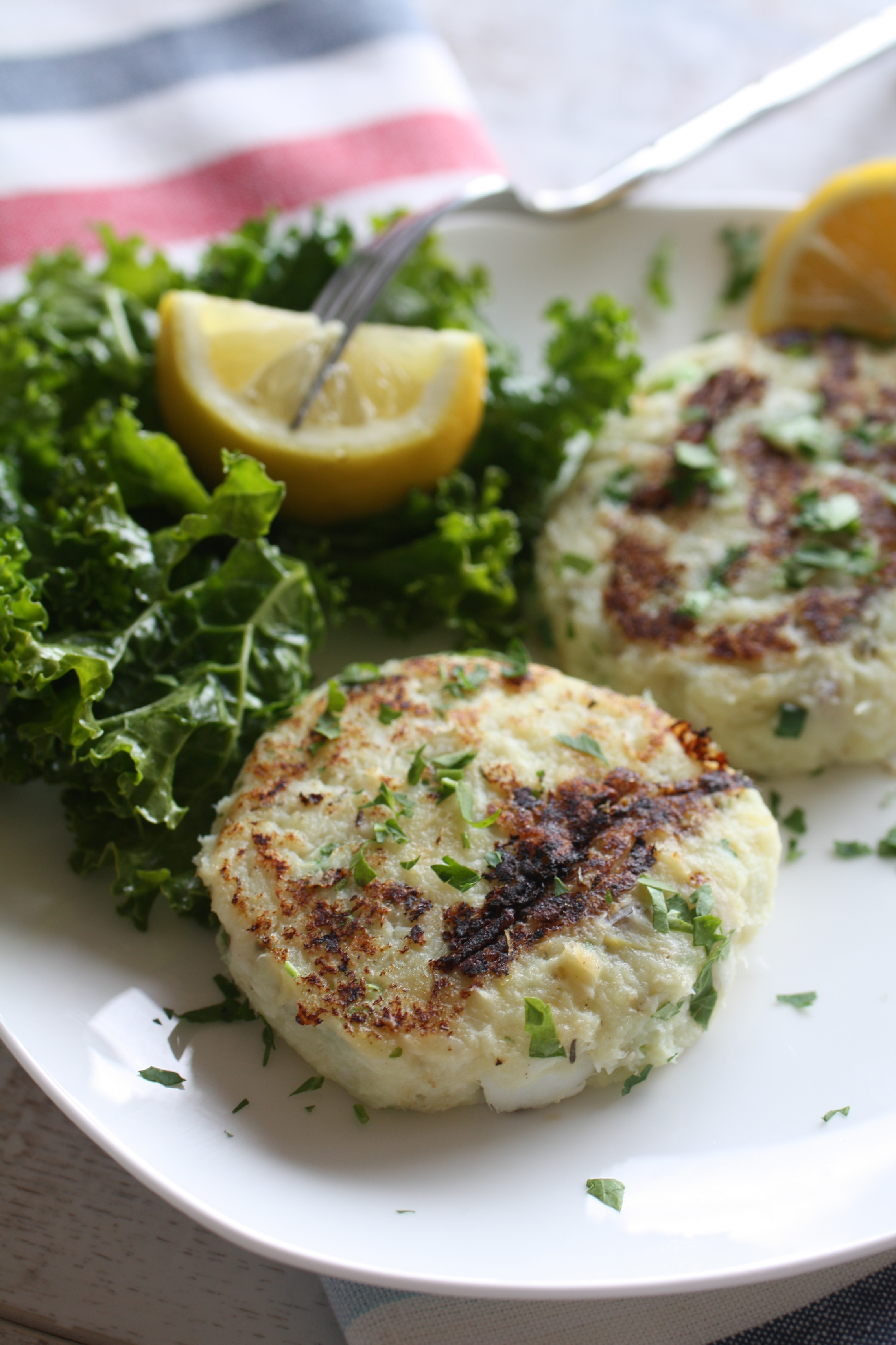 Lemon-Horseradish Fish Cakes Recipes — Dishmaps