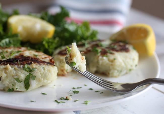 Lemon-Herb Fish Cakes (AIP, Paleo)