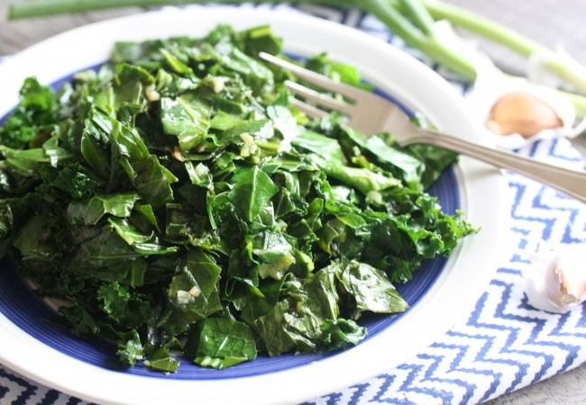 Hot & Sour Greens (AIP, Paleo, SCD)