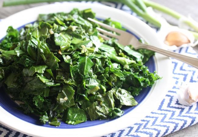 Hot & Sour Greens (AIP, Paleo, SCD)