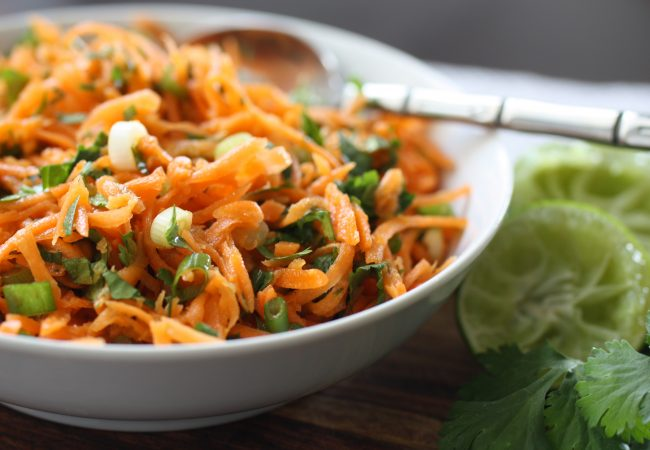 Asian-Flavoured Carrot Slaw (AIP, Paleo, SCD)