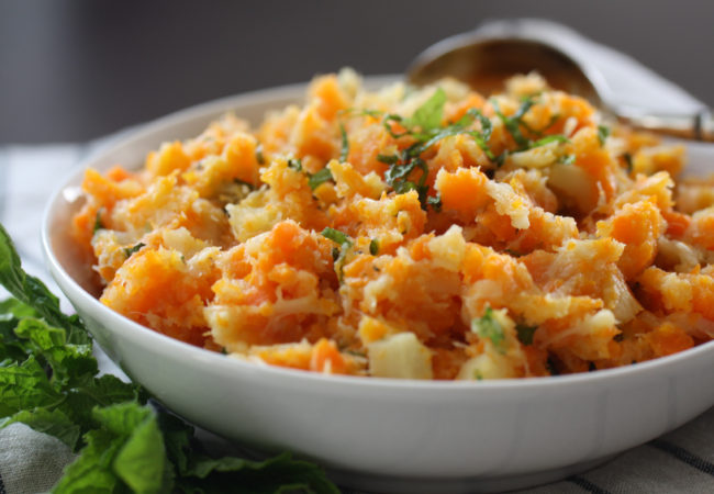 Rustic Root Vegetable Mash (AIP, Paleo, Whole 30)