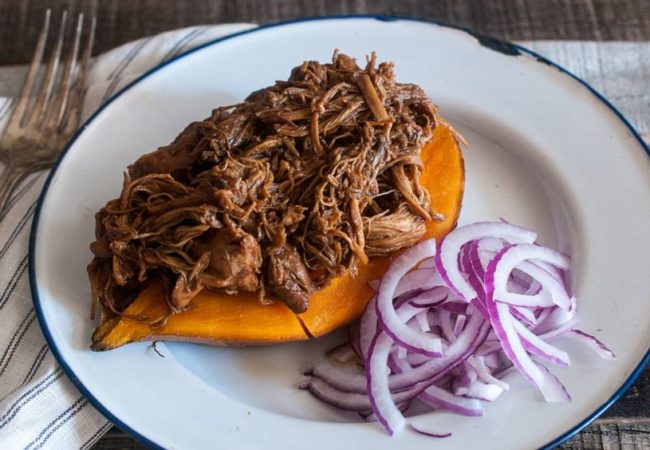 BBQ Pulled Chicken From The Paleo AIP Instant Pot Cookbook!