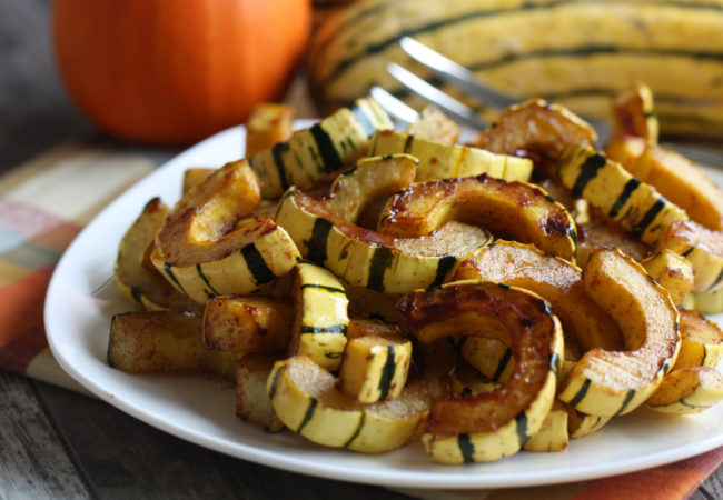 Maple-Glazed Delicata Squash (AIP, Paleo)