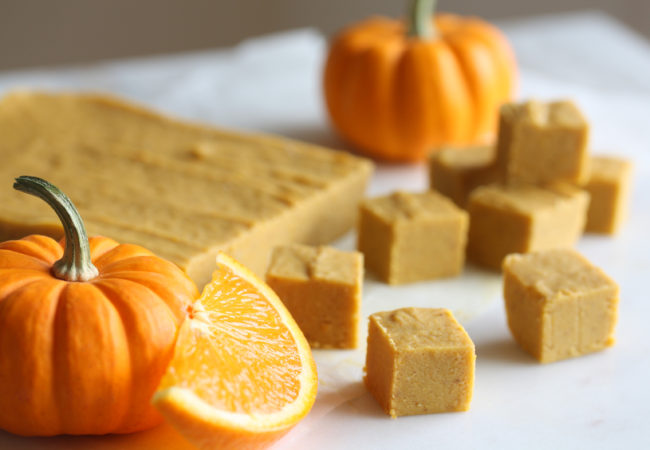 Pumpkin-Orange Freezer Fudge (AIP, Paleo, SCD)