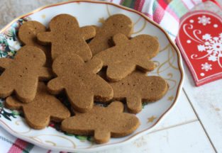 Gingerbread Cookies (AIP, Paleo)